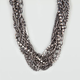 FULL TILT Rhinestone Twisted Chain Necklace
