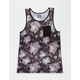 HURLEY Flora Mens Pocket Tank