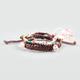 FULL TILT 3 Piece Braid & Bead Skull Friendship Bracelets