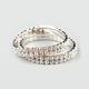 FULL TILT 2 Piece Rhinestone Bracelets