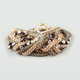 FULL TILT Braided Mesh Toggle Bracelet
