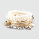 FULL TILT 8 Piece Bangle & Pearl Bracelets
