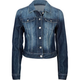 ALMOST FAMOUS Womens Denim Jacket