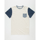 QUIKSILVER Baysick Mens Pocket Tee