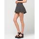 FULL TILT Striped Ribbed Skater Skirt