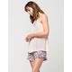 FULL TILT Floral Ruffled Womens Shorts