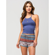 FULL TILT Medallion Print Womens Dolphin Shorts