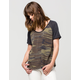 OTHERS FOLLOW Camo Womens Tee