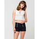 ALMOST FAMOUS Anchor Sailor Womens Shorts