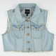 HIGHWAY Crop Womens Denim Vest