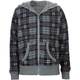 FULL TILT Plaid Girls Hoodie