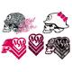 METAL MULISHA Maiden 5 Piece Sticker Pack