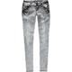 VANILLA STAR Acid Wash Womens Skinny Jeans