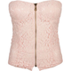 FULL TILT Lace Zip Womens Corset