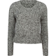 FULL TILT Marled Womens Crop Sweater