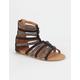 YOKIDS Val Girls Gladiator Sandals