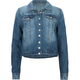 HIGHWAY Girls Crop Denim Jacket