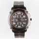 GENEVA Large Round Metal Watch