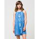 FULL TILT Open Embroidered Dress