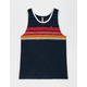 UNIVIBE Racer Mens Pocket Tank