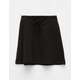 H.I.P. Lace Up Girls Skirt
