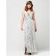 ANGIE Floral Surplus Dress
