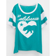 FULL TILT Cali Bear Girls Varsity Tee