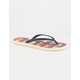 TIDAL NEW YORK US Flag Womens Sandals