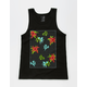 BLUE CROWN Beach Tribe Mens Tank