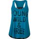 FULL TILT Young Wild & Free Womens Tank