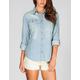 FULL TILT Chambray Womens Shirt