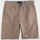 BLUE CROWN Mens Slim Chino Shorts