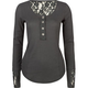 FULL TILT Lace Inset Womens Thermal