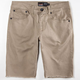 RSQ London Mens Skinny Cutoff Shorts