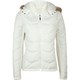 ASHLEY Sweater Panel Womens Puffer Jacket