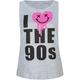 FULL TILT I Love The 90's Womens Muscle Tee