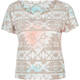 FULL TILT Tribal Print Womens Boxy Tee