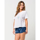 ROXY Popoyo Womens Denim Shorts