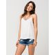 RVCA Hello Mellow Womens Denim Shorts