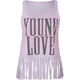 FULL TILT Young Love Womens Fringe Tank