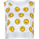 FULL TILT Smiley Womens Crop Top
