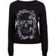 FULL TILT Skull Womens Crop Sweatshirt