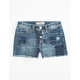 ALMOST FAMOUS Patchwork Girls Denim Shorts