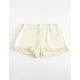 INDIGO REIN Crochet Girls Shorts