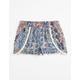 FULL TILT Patchwork Challis Girls Shorts