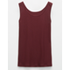 FULL TILT Essential Ribbed Girls Tank