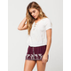 PATRONS OF PEACE Embroidered Border Womens Shorts