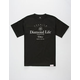 DIAMOND SUPPLY CO. Champagne Crest Mens T-Shirt