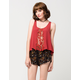 FULL TILT Floral Womens Wrap Shorts