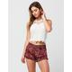 FULL TILT Abstract Paisley Womens Shorts